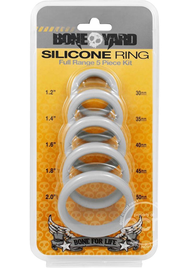 Boneyard Silicone Rings - 5 piece