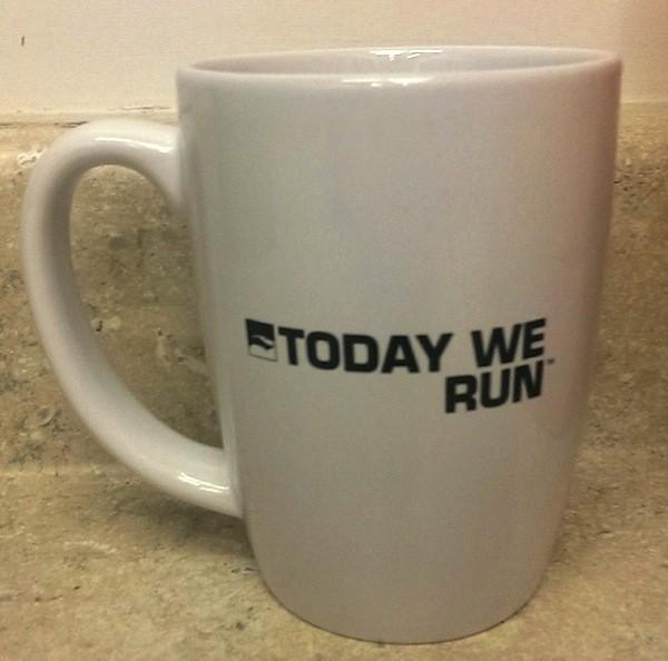 "RRC """"Today We Run"""" Coffee Mug"