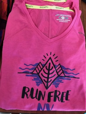 Brooks RRC Store Print Womens Distance Long Sleeve