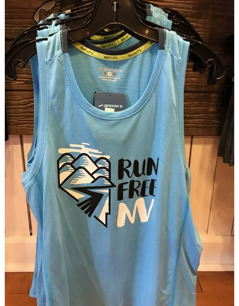 Brooks Brooks Mens Run Free NV Tank