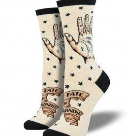 socksmith socksmith palmistry socks heathered ivory