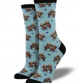 socksmith socksmith significant otter socks blue chalk
