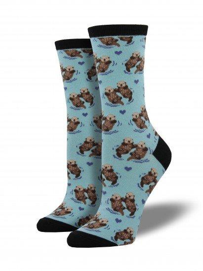socksmith significant otter socks blue chalk