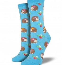 socksmith hedgehogs socks bright blue