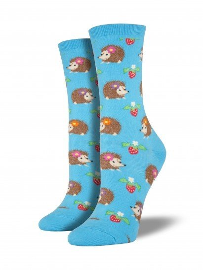 socksmith socksmith hedgehogs socks bright blue