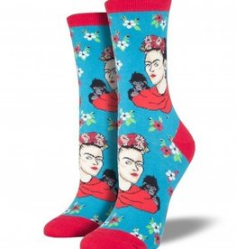 socksmith socksmith Kahlo portrait socks peacock