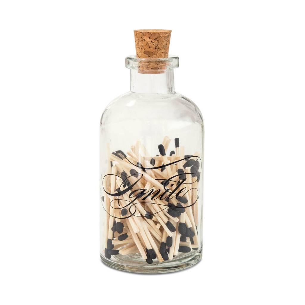 skeem design small ignite match bottle