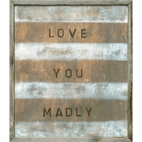sugarboo sugarboo art print love you madly