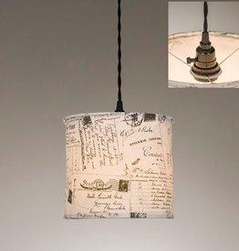 ctw ctw vintage postcards pendant lamp