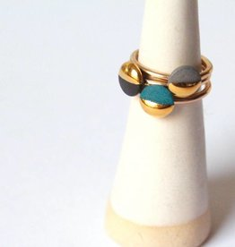 mier luo gold dipped ring