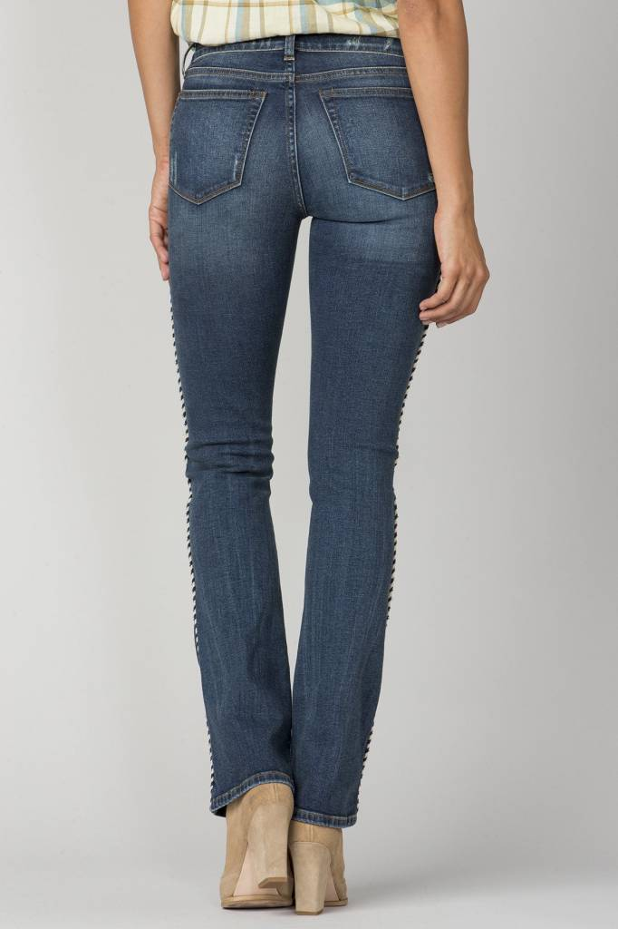 mm vintage embroidered boot cut jean