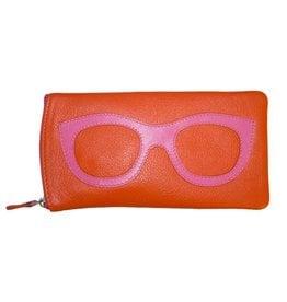intercontinental leather (IL) ili eyeglass case