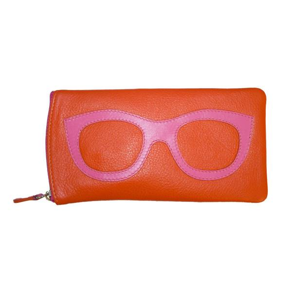 intercontinental leather (IL) eyeglass case