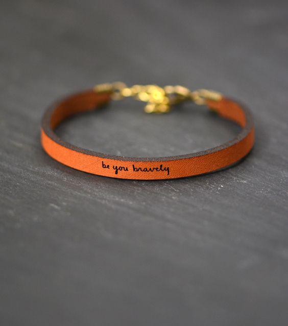 laurel denise gold leather bracelet