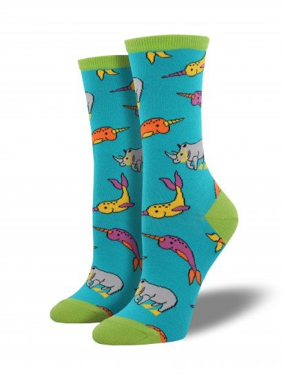 socksmith dive buddies socks turquoise