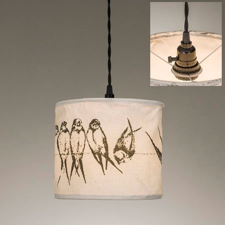 ctw birds on a wire pendant lamp