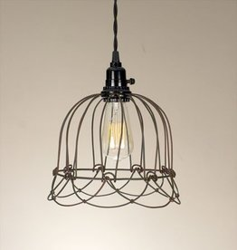 ctw ctw small wire bell pendant lamp