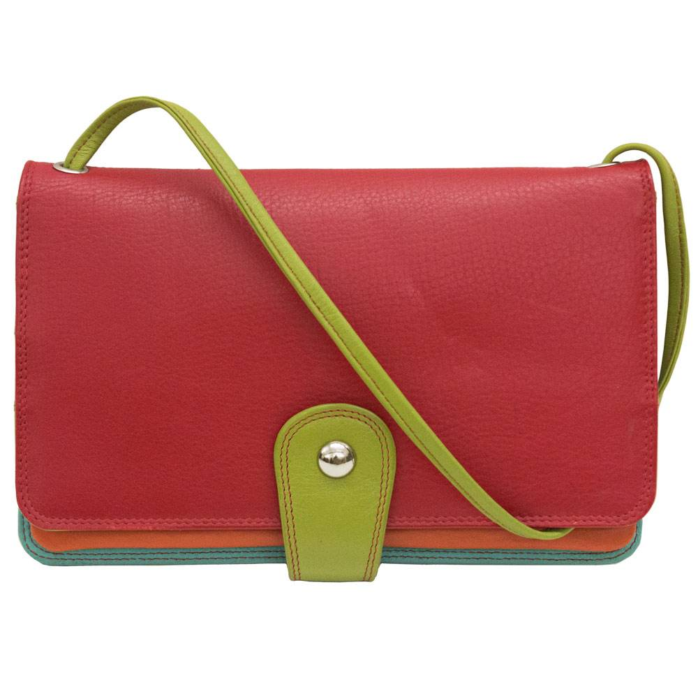 intercontinental leather (IL) wallet purse