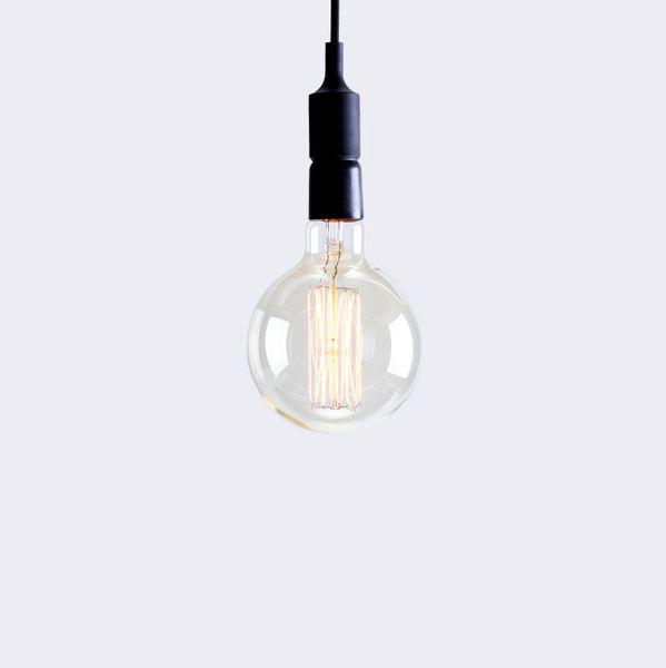 "american design club ADC 6"" x 9"" edison filament globe bulb"