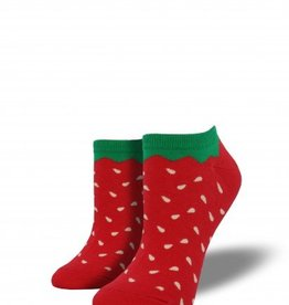 socksmith socksmith strawberry shortie socks red