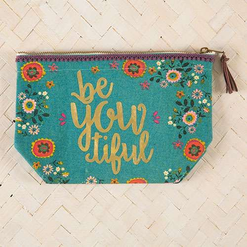 natural life canvas pouch
