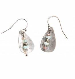 original hardware original hardware sterling silver teardrop sedona mix earrings