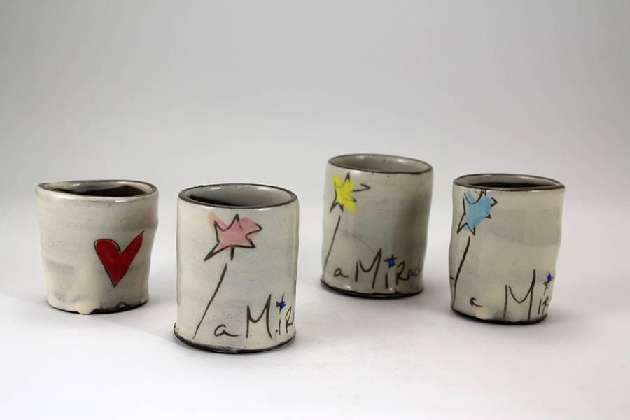zpots zpots shot glass/bud vase