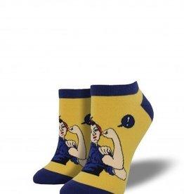 socksmith socksmith rosie the riveter shortie socks
