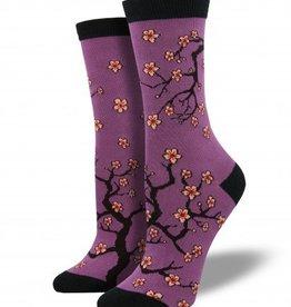 socksmith socksmith cherry blossom bamboo socks