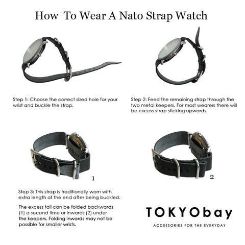 tokyo bay tokyo bay small nato watch