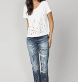 mm vintage boyfriend paint splatter jeans