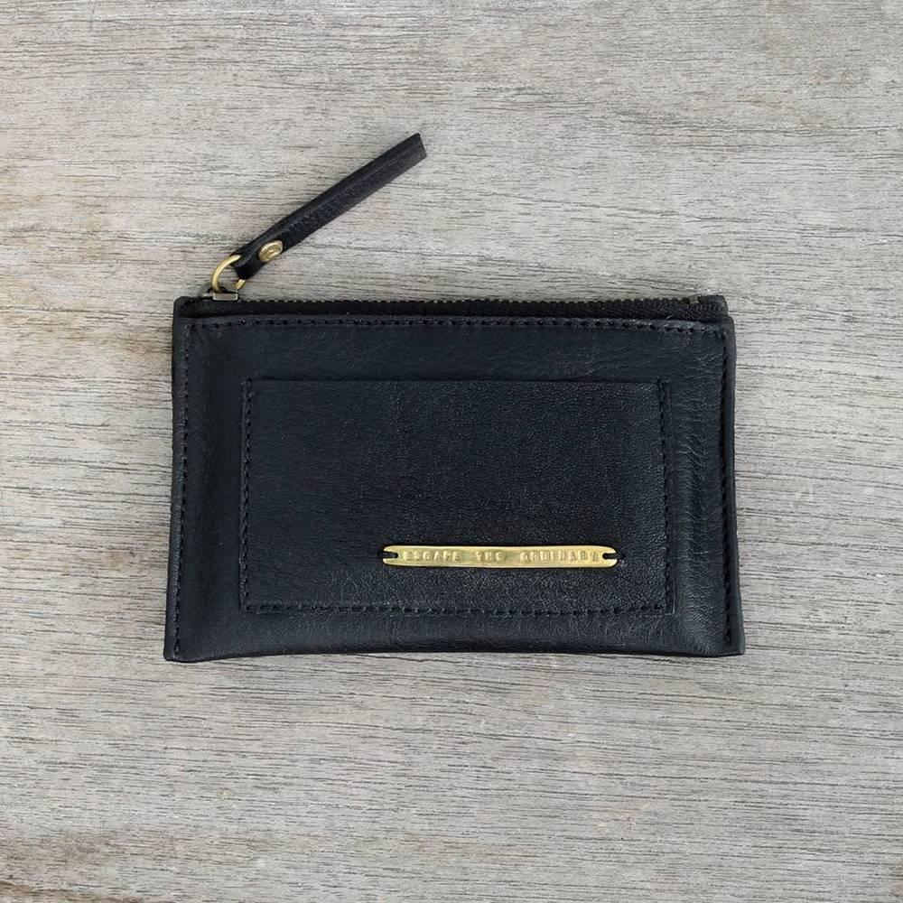 bauxo bauxo found leather card case