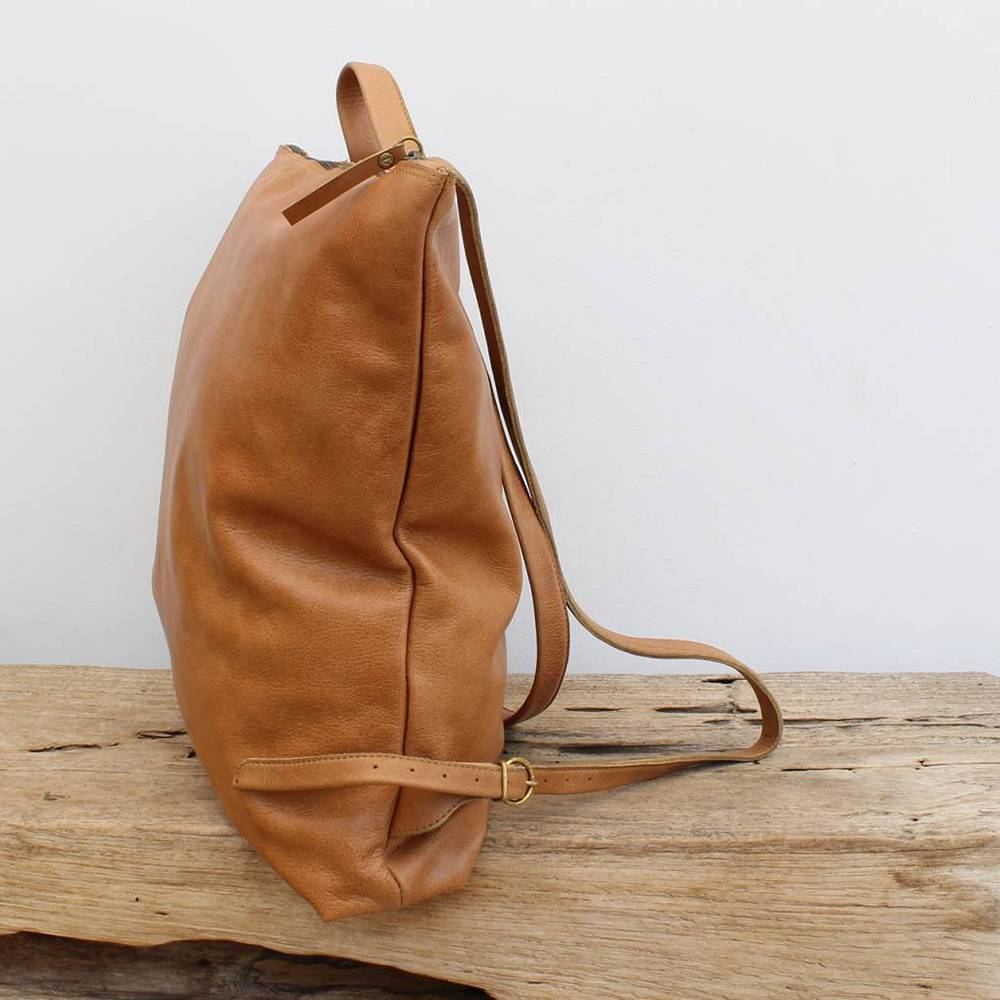 bauxo bauxo peak backpack leather