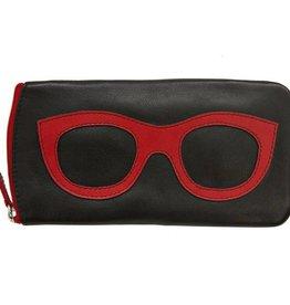 intercontinental leather (IL) eyeglass case