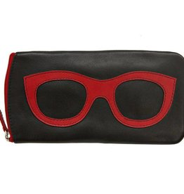 intercontinental leather (IL) ili eyeglass case