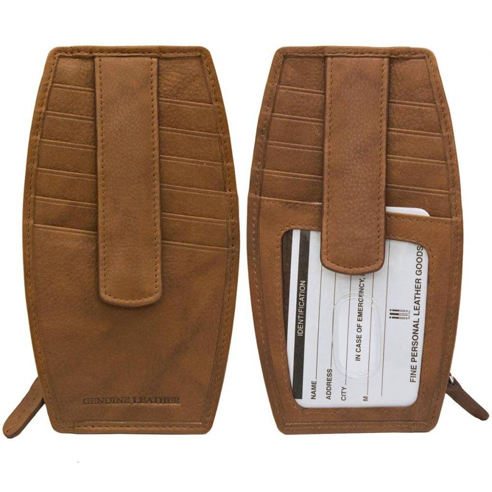 intercontinental leather (IL) credit card holder