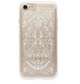 rifle paper rifle paper iphone 6 case clear floral lace