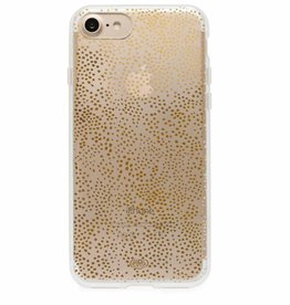 rifle paper iphone 7 case clear champange