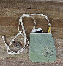kata golda kata golda plant dyed pocket purse