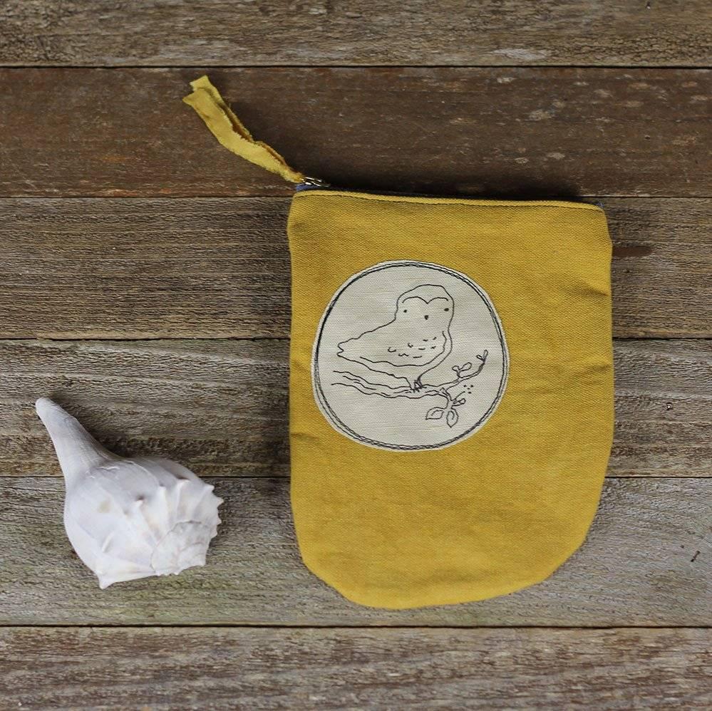 kata golda kata golda plant dyed pouch