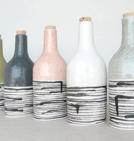 elizabeth benotti striped bottles