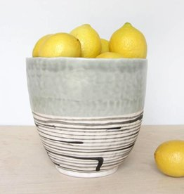 elizabeth benotti pinched tall serving bowl