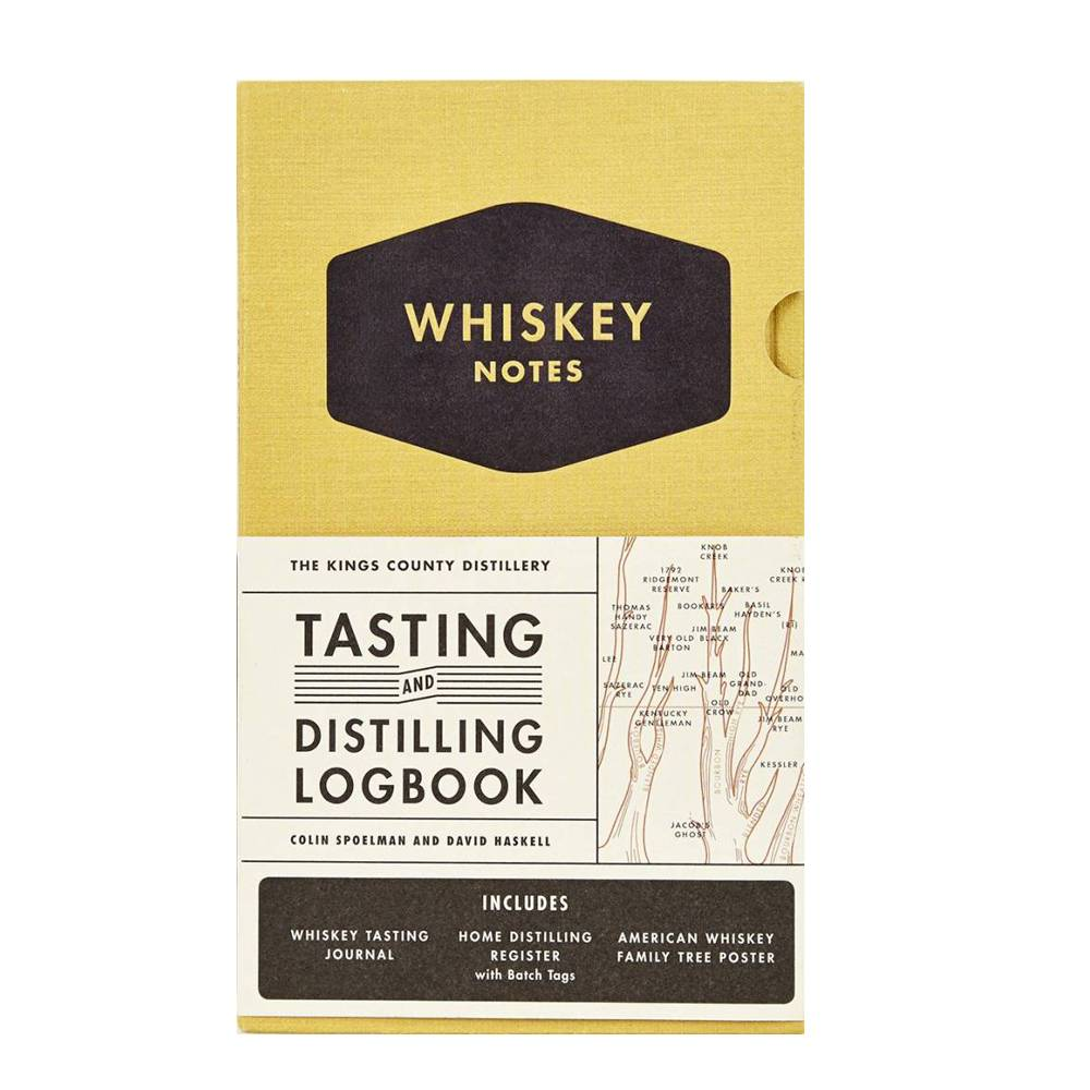 hachette book group the kings county distillery: whiskey notes: tasting and distilling logbook
