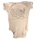 counter couture counter couture home sweet home baby onesie