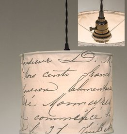 ctw ctw vintage handwriting pendant lamp