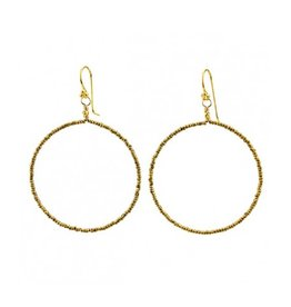 robindira unsworth robindira unsworth signature brass hoops