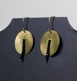 eric silva cut out moon earrings