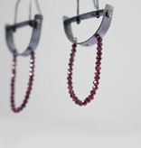eric silva half circle earrings