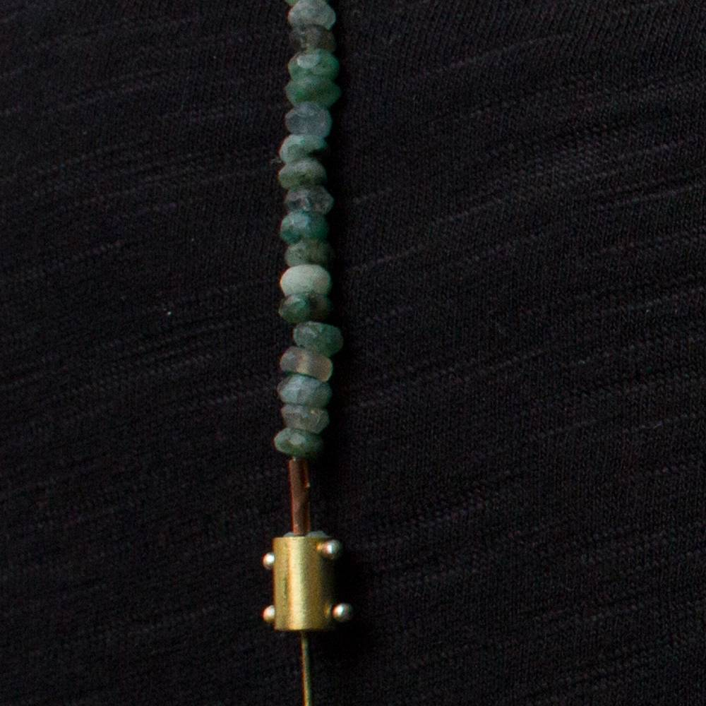 eric silva eric silva long barnacle necklace aquas
