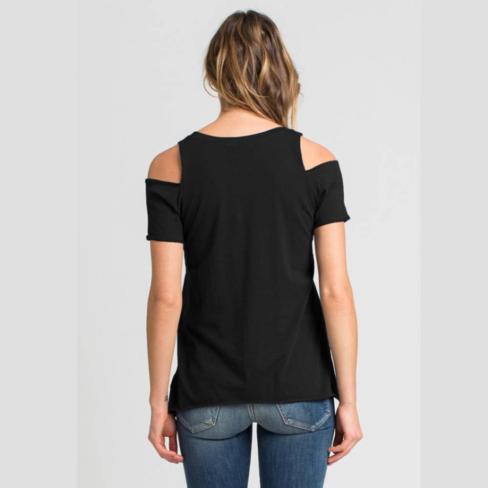 la made jana cut tee black
